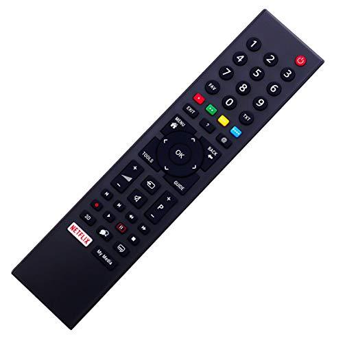 Ersatz Fernbedienung Grundig 32GFB6621 32GFB6628 32GFW6628 mit Netflix - afstandsbediening, télécommande, Kumanda, Plug & Play