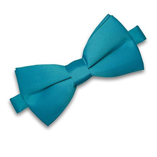 SoulCats SoulCats® Fliege für Herren zur Hochzeit oder Konfirmation verstellbar Schleife klassisch gebunden, Farbe:hellblau