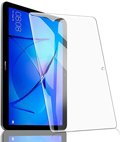 Protector Pantalla para Huawei MediaPad T3 10'', Cristal Vidrio Templado Premium [9H Dureza] [Alta Claridad] Anti-arañazos Sin Burbujas Película Protectora