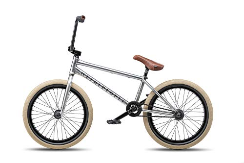"Wethepeople Battleship 20"" 2019 BMX Freestyle (Brushed Raw - Left Hand Drive)"
