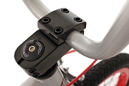 KS Cycling Fahrrad BMX Freesyle 20″ Twentyinch Silber-rot - 4
