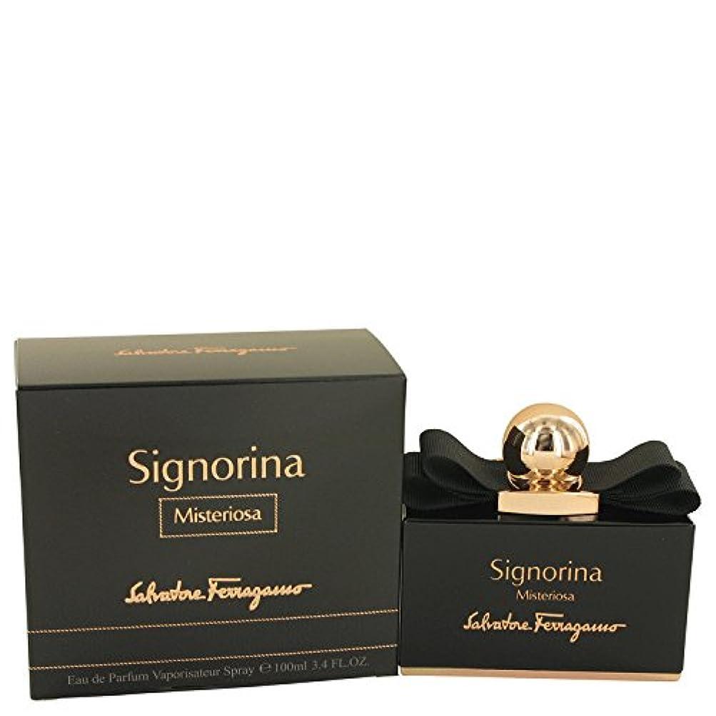 ふさわしい予防接種する多様体Signorina Misteriosa by Salvatore Ferragamo Eau De Parfum Spray 100 ml [並行輸入品]