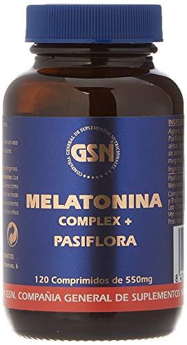 G.S.N. Complemento Alimenticio, Melatonina complex + pasiflora - 120 comprimidos