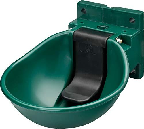 LISTER Tränkebecken SB 1 grün - Druckzungenventil - Tränke für Pferde und Rinder