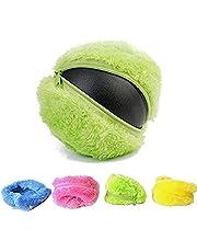 Leksak magisk rullboll magisk rullboll pedagogisk rörlig leksak med 4 ullöverdrag för hund katt husdjur husdjur pedagogiska leksaker husdjur magisk boll