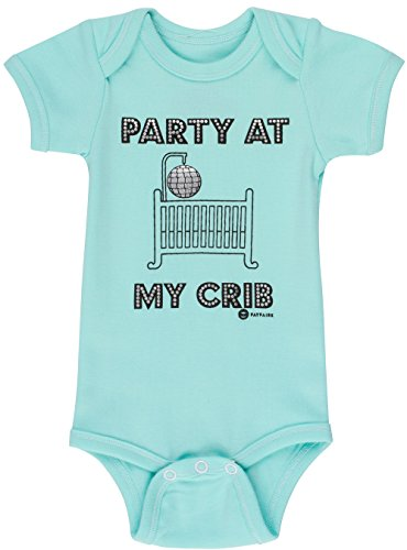 Baby Shower Gifts by Fayfaire Boutique | Funny Baby Clothes Party at My Crib NB-6M