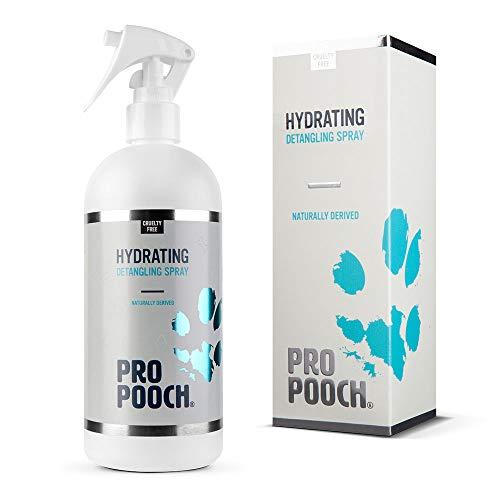 Pro Pooch Spray desenredante para Perros (500 ML) Spray acondicionador hipoalergénico para...