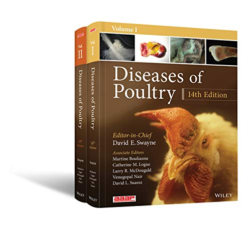 Diseases of Poultry, 2 Volume Set (English Edition)