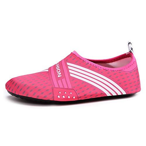 WHSS Zapatos de playa Unisex al aire libre natación río aguas arriba Skinning Playa buceo velocidad interferencia agua surf calcetines a prueba de arena anfibio anti-coral fitness running zapatos