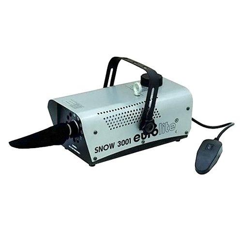 Eurolite Snow 3001 Snow machine - Accesorio de discoteca (Negro, Gris, 340...