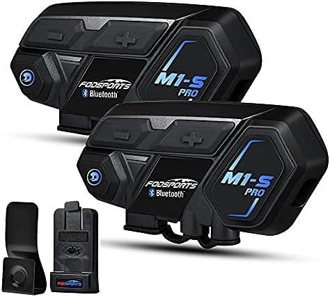 Motorcycle Bluetooth Intercom Tucson Mall Fodsports M1-S 2000m Helmet Max 71% OFF Pro B