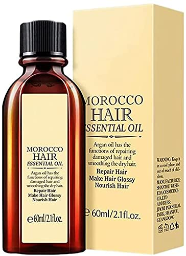 Aceite esencial marroquí para el cuidado del cabello, aceite esencial multifuncional para el cabello, aceite esencial para el tratamiento de primera calidad para el cuidado del cabello (1Pc)