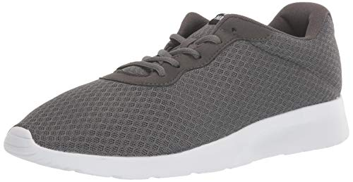 MAITRIP Mens Gym Shoes,Athletic Running Shoes,Lightweight Breathable Mesh Casual Tennis Sports Workout Walking Sneakers,Charcoal Grey Gray,Size 13