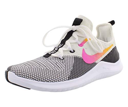 Nike Women's Free Tr 8 Lm Running Shoes, Black/Laser Fuchsia, Size 8.5