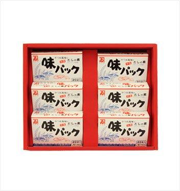 カネイ醤油 味パック6箱セット[AU-350]