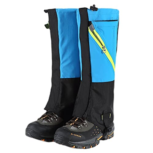 Ghette Da Escursionismo Per Il Campeggio All'aperto Corsa Camminare Scarponi Neve Impermeabili E Regolabili Neve Traspiranti Leggeri Impermeabili Resistenti Avvolgere Caccia In Montagna Arrampicata