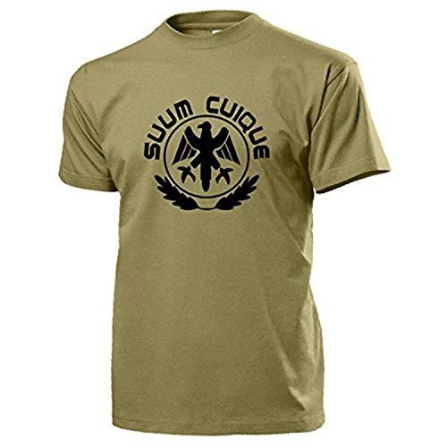 SUUM CUIQUE Preußen Bundeswehr Feldjäger MP Military Militär - T Shirt #13079, Farbe:Sand, Größe:XL