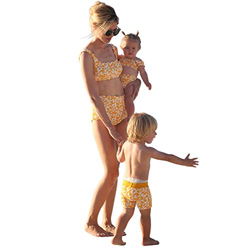 Mommy and Me Swimsuits Family Matching Swimwear Toddler...