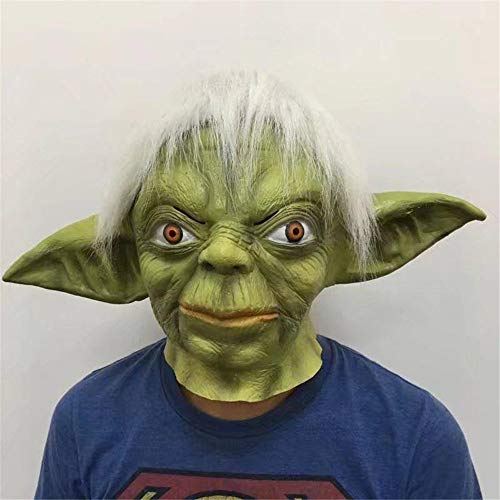 XYDBB Maskers Party Star Master Halloween Latex Yoda Maskers Wars Bar Party Masker