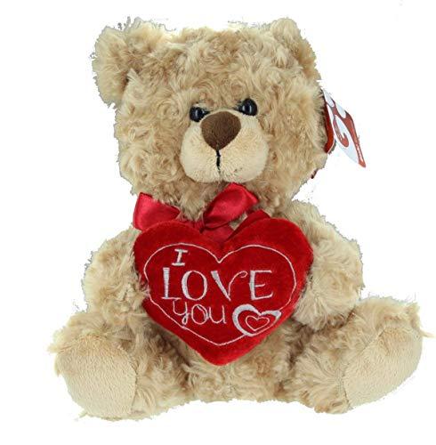 Orso Raffaello con cuore ricamato I LOVE YOU 445014