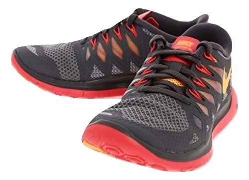 reputable site 02546 25840 Nike Free 5.0  14 (Cool Grey Atomic Mango Laser Crimson Wolf Grey) Women s Running  Shoes (Cool Grey Atomic Mango