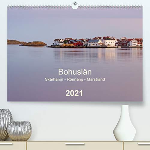 Bohuslän. Skärhamn - Rönnäng - Marstrand (Premium, hochwertiger DIN A2 Wandkalender 2021, Kunstdruck in Hochglanz): Idyllische Dörfer, zauberhafte ... Schärenküste (Monatskalender, 14 Seiten )