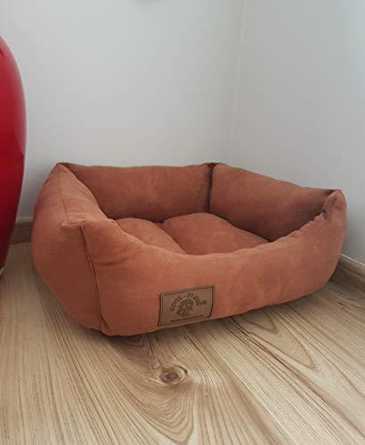 Odolplusz Cama para perros y gatos York, Shih - TZU, color marrón