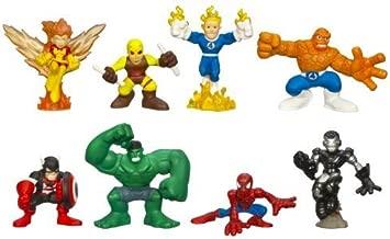 Marvel Super Hero Squad Collectors Pack - 8 Figure Variant Superhero Box Set