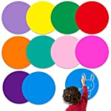 10 Stück Bunte Aufkleber Trocken Abwischbar,Trocken Abwischbare Kreise,Boardmarker Abnehmbar Vinyl...