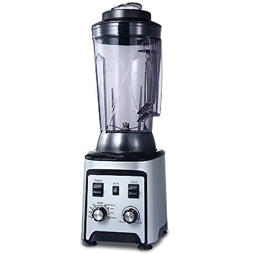 Blender voor sappen, shakes en smoothies, snelheidsregeling met meerdere versnellingen 4 l, hoge capaciteit, opsplitsen van ingrediënten Snel intelligent snelheidsregelsysteem