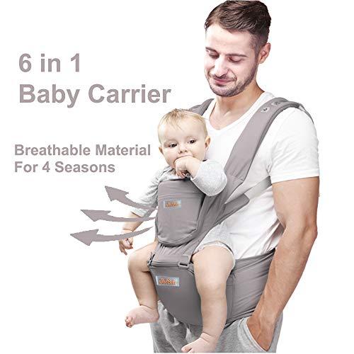 TININNA Multifuncional Portabeb/é Baby Carrier portador de beb/é F/ácil de Cargar y F/ácil Mam/á,Cubierta a Prueba de Viento con Capucha Acogedor y Tranquilo para Beb/és