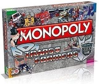 Monopoly - Juego de Tablero Transformers, de 2 a 6 Jugadores (Winning Moves 22484) (Importado): Amazon.es: Juguetes y juegos