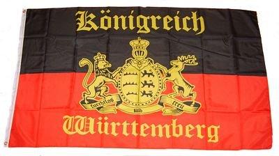 Flagge Fahne Königreich Württemberg 90 x 150 cm FLAGGENMAE®