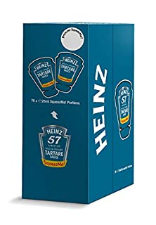 Heinz Tartare Sauce SqueezMe portions, 26 ml (Pack of 70) (B082Y82WTK) | Amazon price tracker / tracking, Amazon price history charts, Amazon price watches, Amazon price drop alerts