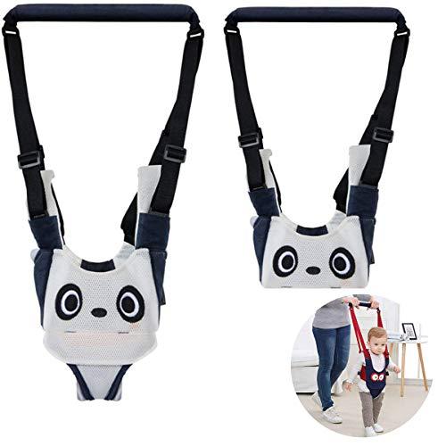 TANGGER Lauflernhilfe Gehhilfe für Baby,Baby Gehhilfe Jungen und Mädchen Atmungsaktive mit Sicherheitsverschluss Walker Sicherheitsleinen,Taillenumfang 54-70cm,Geeignet für Babys 6-24 Monate (Panda)