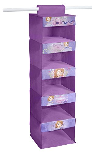 Disney Sofia The First 5-Tier Hanging Organizer