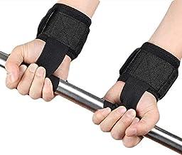 serveuttam Leosportz Gym Workout Power Training Weight Lifting Straps Wraps (1 Pair)
