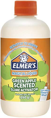 Elmer's Slime Activator   Magical Liquid for Scented Slime, Green Apple, 8.75 oz. Bottle