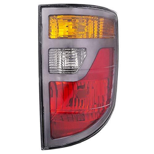 HEADLIGHTSDEPOT Tail Light Compatible with Honda Ridgeline 2006-2008 Pickup Truck Includes Right Passenger Side Tail Light