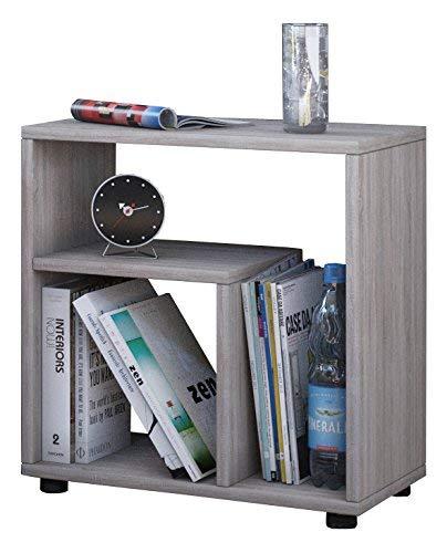 VCM Beistelltisch Tisch Nachttisch Kaffeetisch Nachtkonsole Couchtisch Wohnzimmertisch Sonoma-Eiche 55x50x30 cm