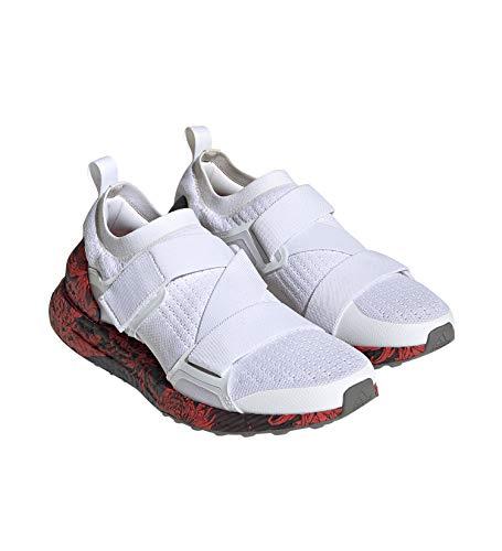 adidas ASMC Ultraboost X Printed, Scarpe da Ginnastica Donna, Cloud White Tech Beige Clay Red, 38 2/3 EU