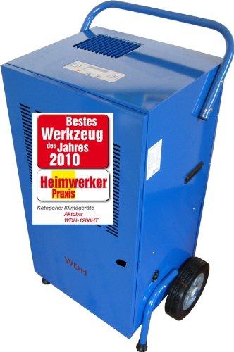 Aktobis Bautrockner, Luftentfeuchter, Entfeuchtungsgerät WDH-1200HT (bis 120 L/T)