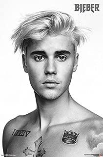 Trends International Justin Bieber Pinup Wall Poster 22.375