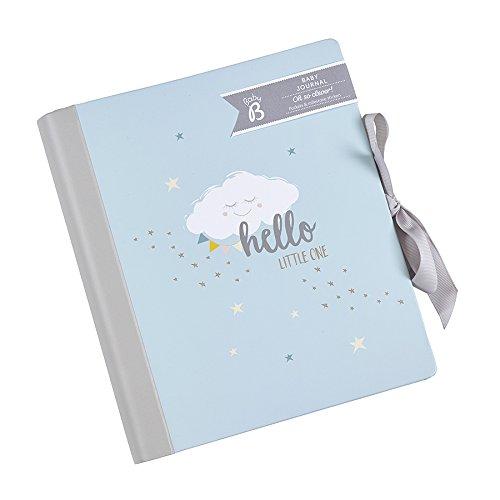 Busy B'Baby B Baby'-Tagebuch mit Taschen und Sticker–Pink blau