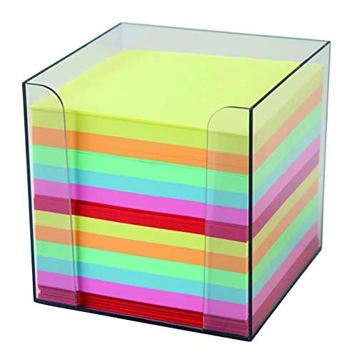 Idena 311068 - Zettelbox, 9 x 9 x 10 cm,...