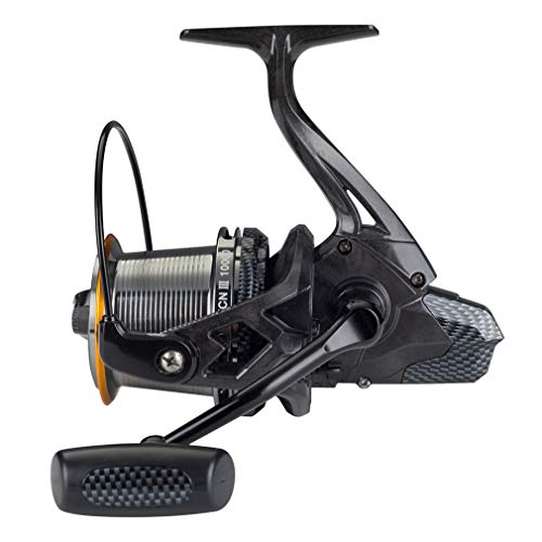 Diwa Fishing Reels Spinning 8000 10000 14000 Series Spool Freshwater Saltwater Big-Game Surf Fishing 12+1 Stainless BB 70 LBS Max Drag Carbon Fiber Ultra Smooth Powerful Oversize Gear (10000)