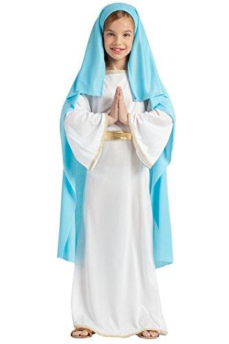 DISFRAZ VIRGEN MARIA TALLA 7-9