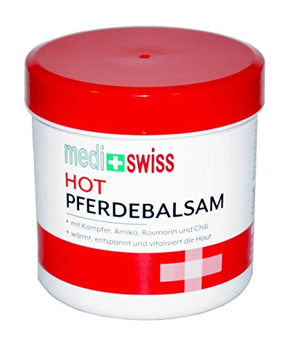medi+swiss Pferdebalsam Hot 1x250ml