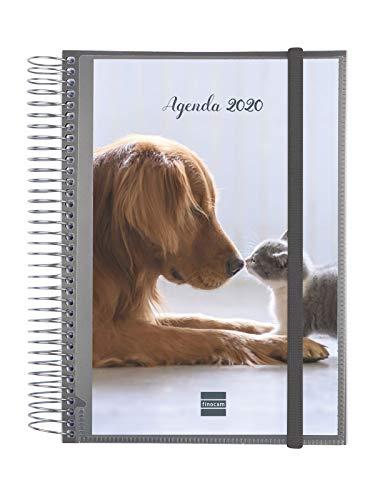 Finocam - Agenda 2020 1 día página Espiral Personalizable Design catalán