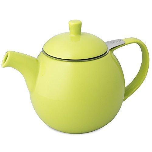 FORLIFE Curve 0,7l Teekanne mit Sieb - Lime